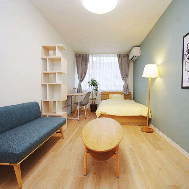 Isaoさんの、部屋全体,ナチュラル,ソファ,一人暮らし,北欧,シンプル,モデルルーム,海外インテリアに憧れる,シェアハウス,のお部屋写真