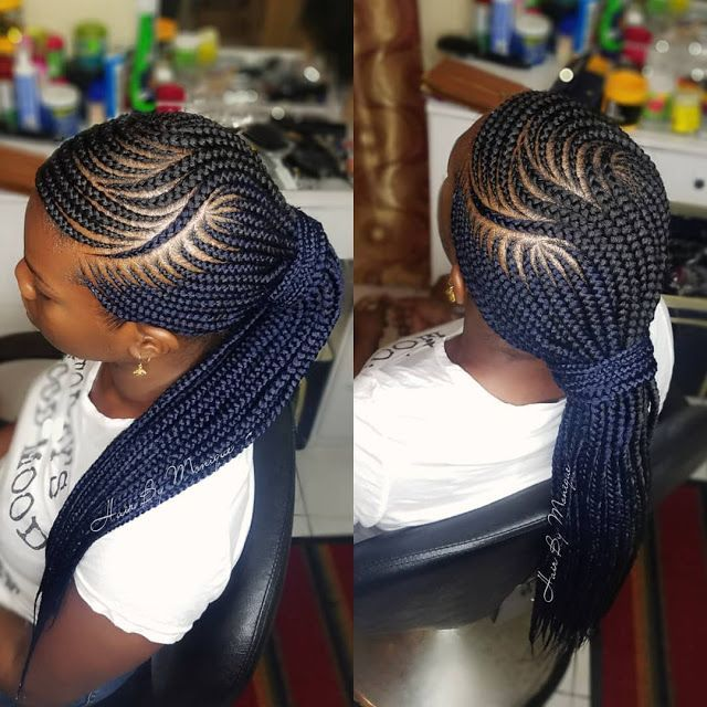80 S Braided Hairstyles Cute Braided Hairstyles For 5 Year Olds Braided A In 2020 African Hair Braiding Styles Feed In Braids Hairstyles Braided Ponytail Hairstyles