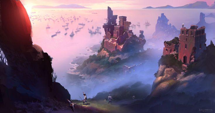 ArtStation – lost of fort, Keyi Li