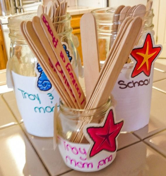 """Stick it to summer boredom with these """"fun to do"""" jars! Let the kids decorate th…  – Real Mommy Stuff"""