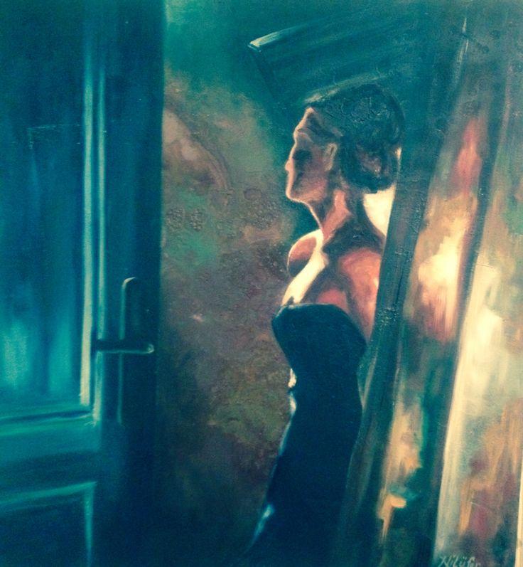 Kapıdaki kadın