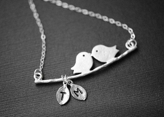 Love Bird Necklace. That's cute.