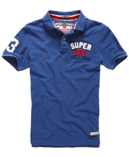 Superdry Polo Core Appliqué