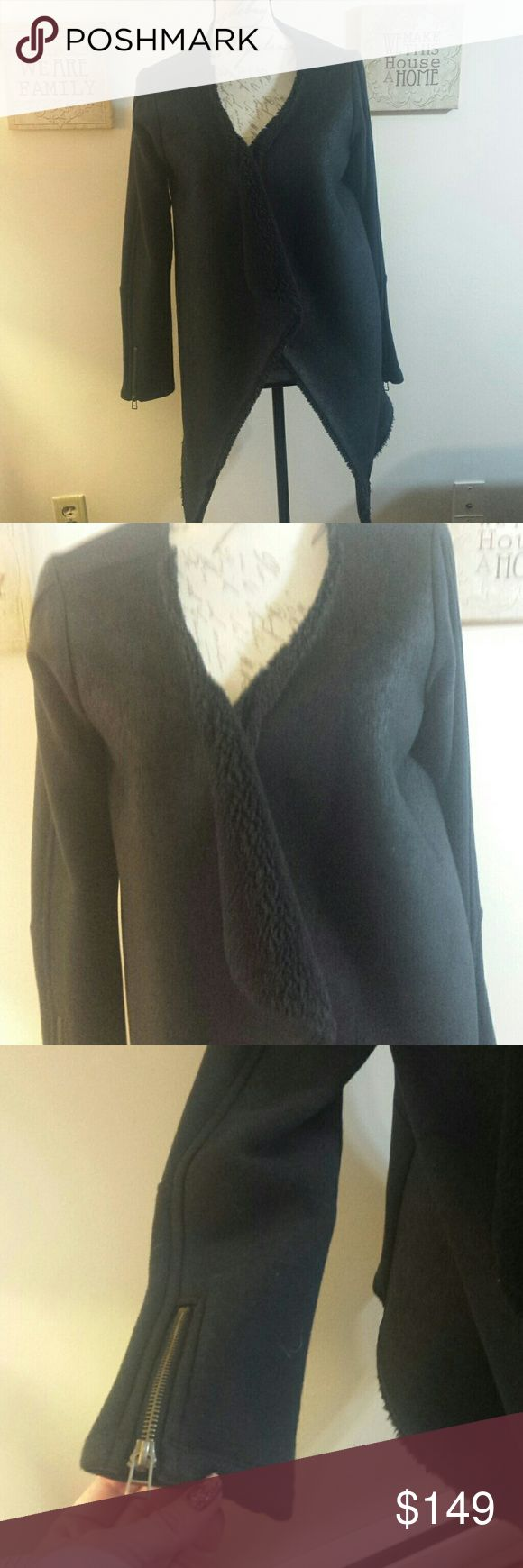 Brand new velvet by graham& spencer Great jacket pic dont do this justice you will love this ...... never worn ... great steal  can't fit large too Velvet by Graham & Spencer Jackets & Coats