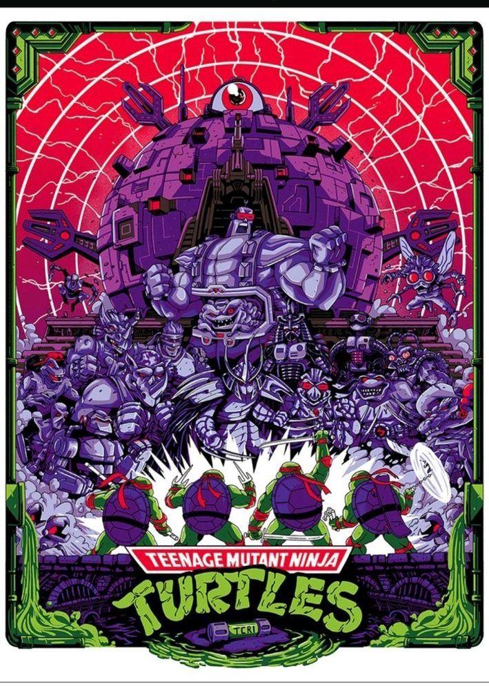 Technodrome Shane Hillman Tmnt Mondo Art Print Teenage Mutant Ninja Turtles Teenage Mutant Ninja Turtles Art Ninja Turtles Art Turtle Art