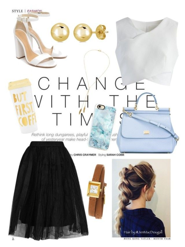 """""""Change"""" by somos-infinitos on Polyvore featuring Topshop, Chicwish, Schutz, Dolce&Gabbana, Casetify, Gucci, BERRICLE, Bølo, ban.do and Elegante"""