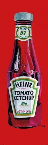 Heinz (Tomato Ketchup) - plakat - 53x158 cm  Gdzie kupić? www.eplakaty.pl