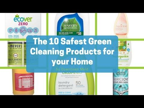 10 Natural and Eco-Friendly Cleaning Products For Your Home