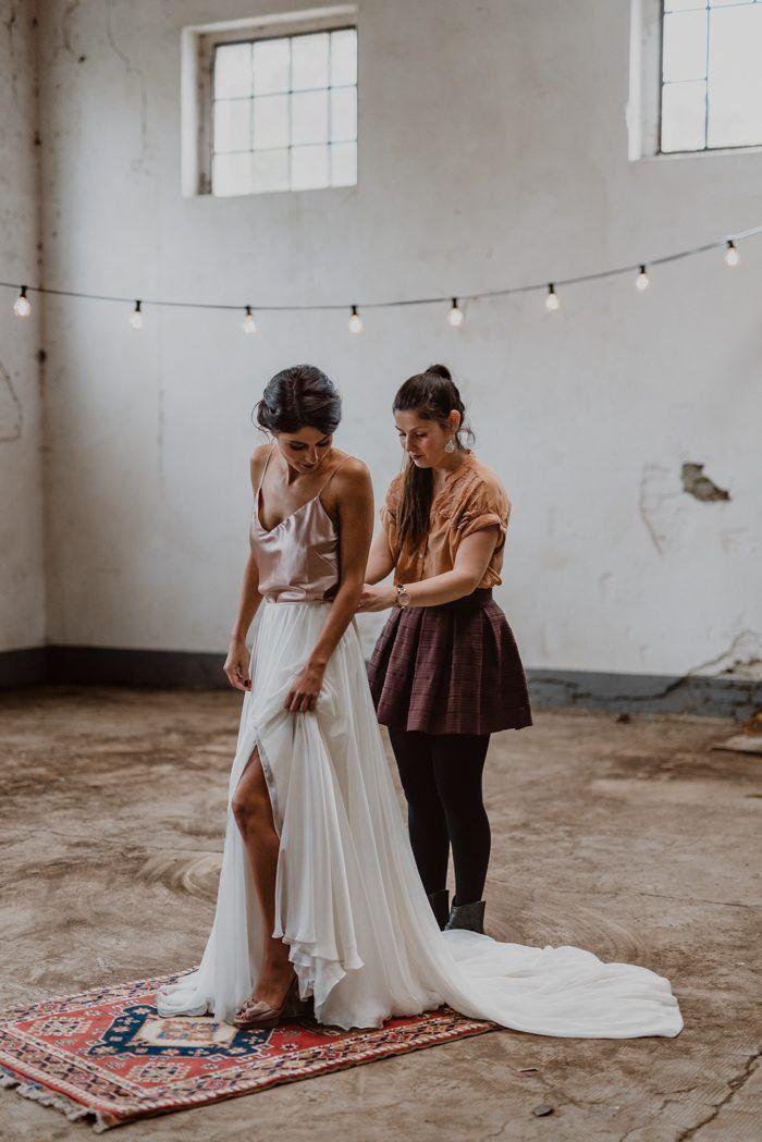 Homegirl S Outfit Attendee Wedding Inspiration Fall Alternative Wedding Dresses Wedding Skirt