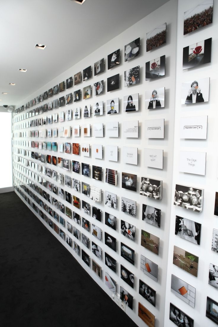 Wall photo grid - we should incorporate pics of the building as its being constructed?