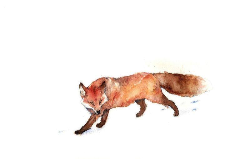 A fox by Loputyn.deviantart.com on @deviantART