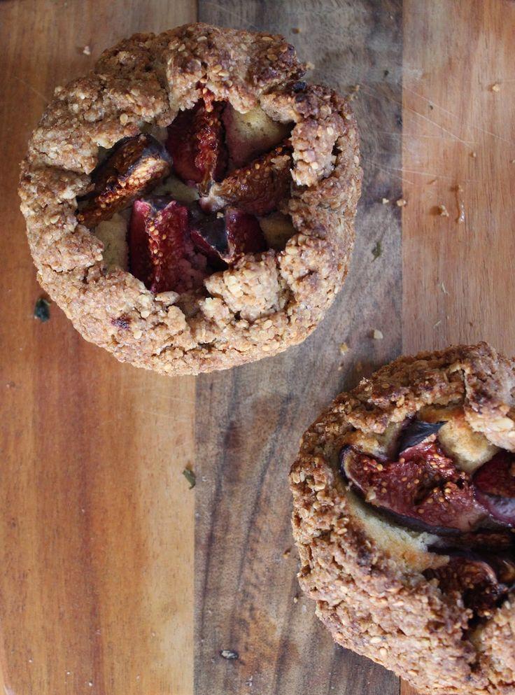 Tartelettes rustiques figues et crème d'amande