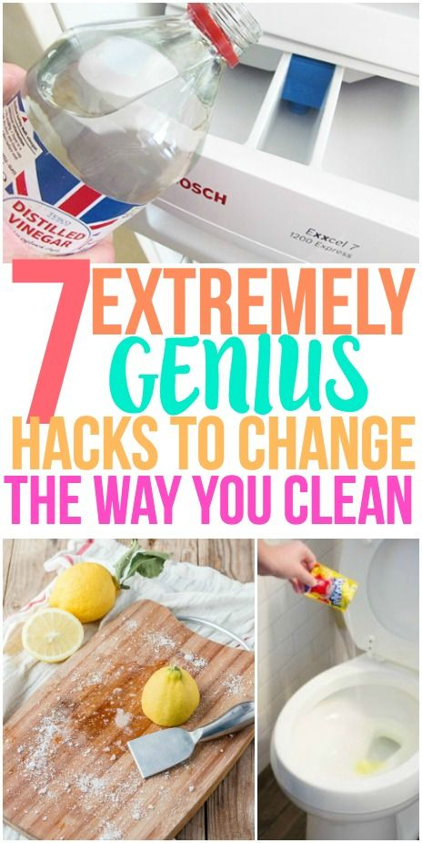 I'm so glad I found these cleaning hacks! These simple cleaning tips are sure to keep your home clean. Pinning for later!