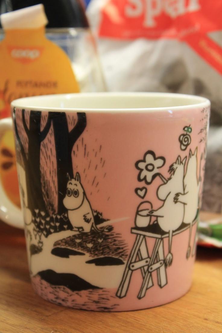 Moomin mug: My Finnish Delights