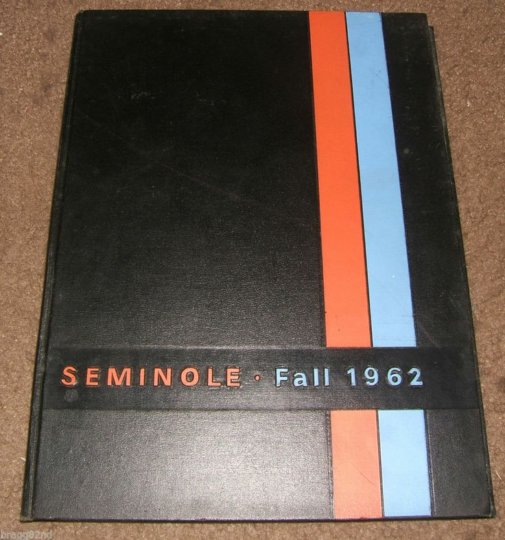 1962 UF UNIVERSITY OF FLORIDA Gainesville YEARBOOK Fall Semester ANNU ...