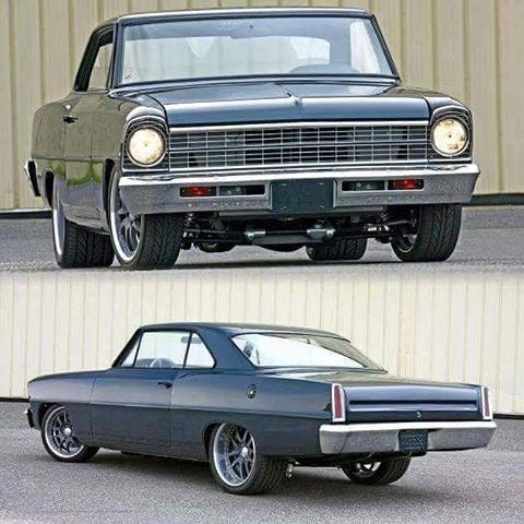 1967 Nova with a 454ci big-block Chevy Perf crate motor, Chassisworks front suspension, TCI 4-link, Wilwood Disc Brakes and more. #classicsdaily #speedsociety #chevyperformance