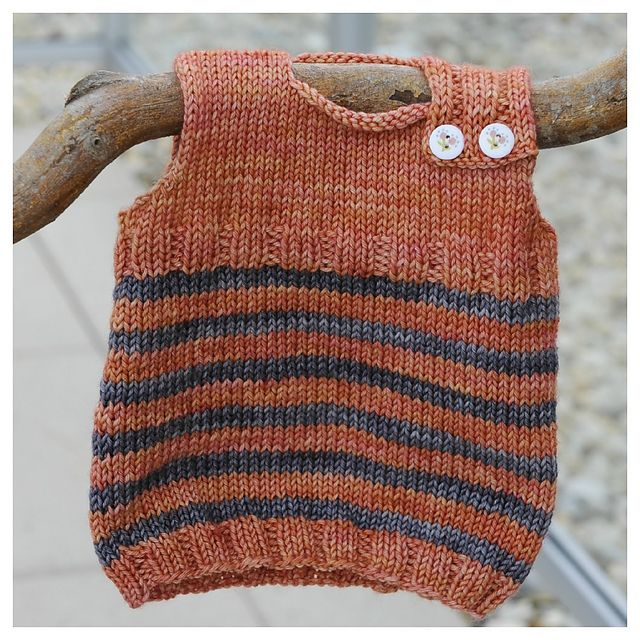 Ravelry: Baby Newborn Magic Troll Vest pattern by Eba Design