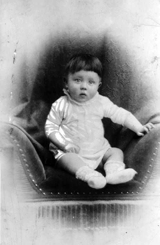 Adolf Hitler was born April 20, 1889 at the Gasthof zum Pommer in Braunau am Inn. He was the fourth of six children to Alois Hitler and Klara Pölzl. This picture of the young Hitler was taken in 1889 or 1890.