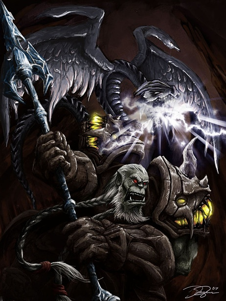 433 best images about WoW Artwork on Pinterest | Orc ...