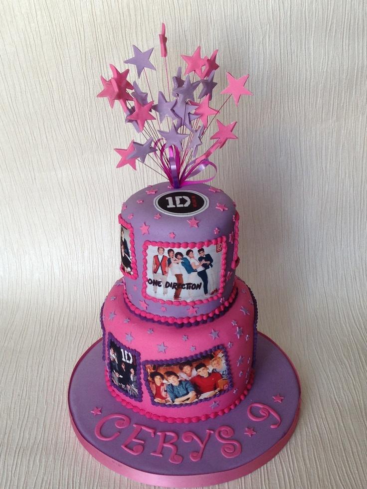 One Direction Cake 1d Birthday Cake Ideas Pinterest