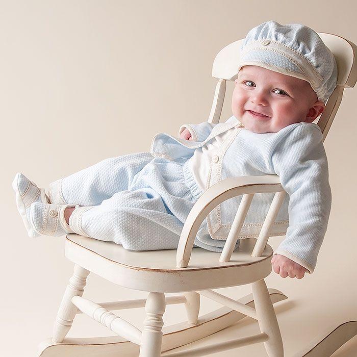 Baby Boy 3-Piece Set - Jack Christening & Baptism Collection  $139