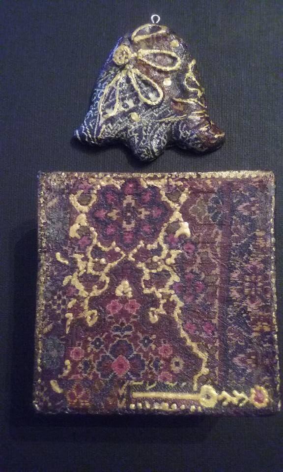 Ornament & Gift Box - handmade  Copyright@ Laura Ciocoiu