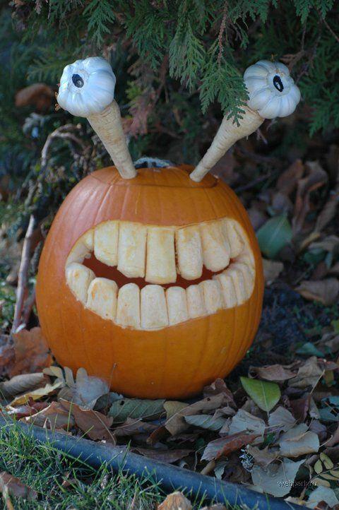Тыковки и торты на Хэллоуин (60 фотографий) | Webpark.ru