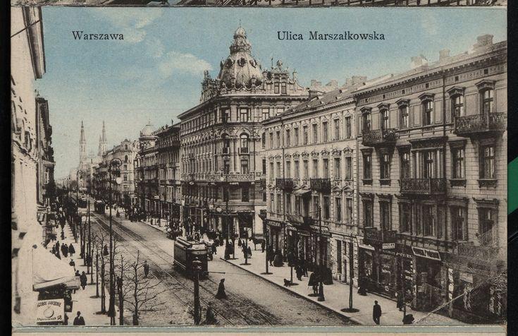 Warszawa 1913 (Marszałkowska)