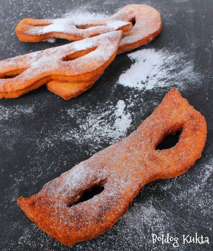 Doughnuts with orange  Boldog Kukta: Narancsos farsangi maszkok és a fánk története röv...