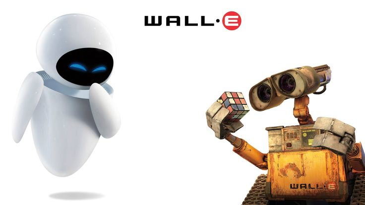 WALLE and EVE Wallpaper by Talik on DeviantArt