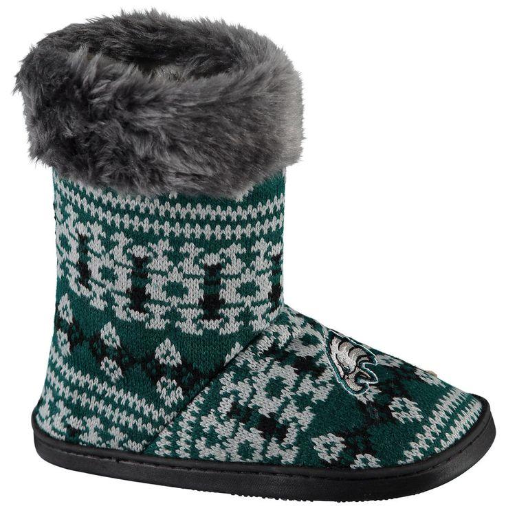 Women's Philadelphia Eagles Aztec Boots