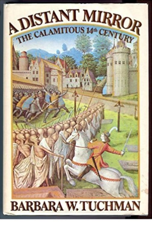 Een fantastisch boek dat ik voor de 3e of 4e keer las. Een beschrijving van het leven in de 14e eeuw aan de hand van het leven van een Franse edelman, sire de Coucy. De pest, plunderingen, het schisma in de kerk, de 100-jarige oorlog, pittige onderwerpen maar fenomenaal en met humor beschreven. Af en toe besef je dat er in ruim 700 jaar weinig veranderd is. Hebzucht, intriges, strijd om de macht, trots, overschatting, verkwisting, alles van toen en nu. Lezen! Kan ook in het Nederlands!
