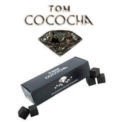 Tom Cococha Diamond 54 Würfel unter http://www.relaxshop-kk.de/wasserpfeifen-shisha-kohle/shisha-naturkohle.html kaufen.
