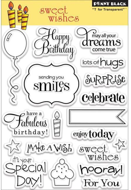 Sweet Wishes (Birthday) - Clear Stamps