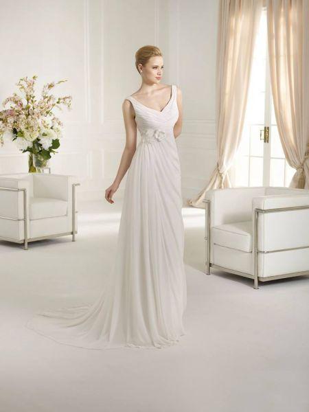 Vestidos de novia para embarazadas 2017