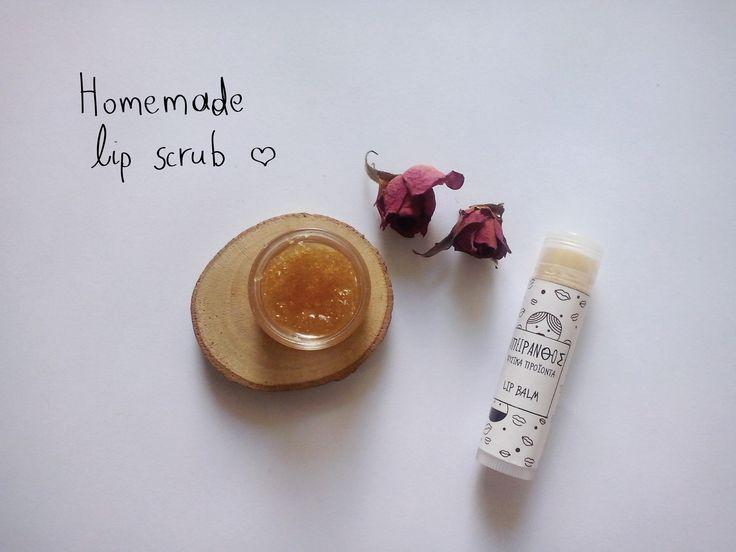 #apeiranthos #natural #cosmetics #handmade #product #lipscrub #lipbalm