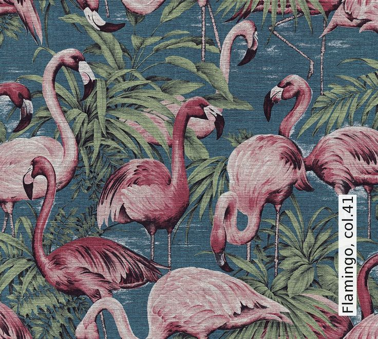 Tapete: Flamingo, col.41 - Die TapetenAgentur