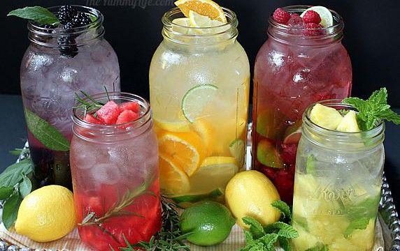 Gezonde, lekkere drankjes zelf maken! Bij deze heb je dus helemaal geen ongezonde frisdranken meer nodig ;)