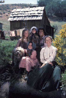 """Little House on the Prairie"" Melissa Gilbert, Melissa Sue Anderson, Lindsay Greenbush, Michael Landon, Karen Grassle 1976"