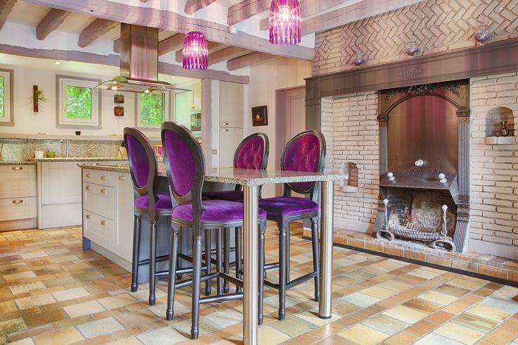 Cuisine campagne chic maison de campagne vexin for Pinterest maison de campagne