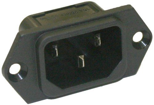Interpower 8301213 IEC 60320 C14 Screw Mount Power Inlet with Quick Disconnects, IEC 60320 C14 Socket Type, Black, 10A/15A Rating, 250VAC Rating Interpower http://www.amazon.com/dp/B00917Z96S/ref=cm_sw_r_pi_dp_5YYCub0YSAVZR