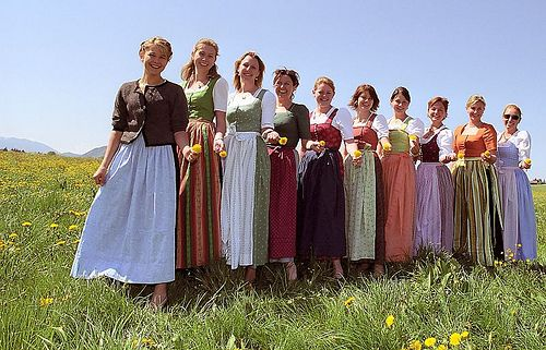 traditional dirndl construction instructions