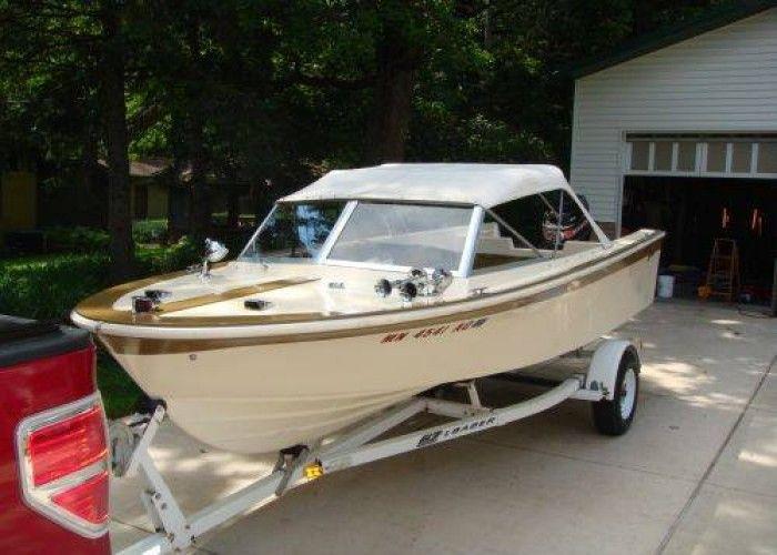 1968 Glasspar Boats For Sale 1968 Glasspar Citation Classic 17 Ft Deep V W 1969 80 Hp