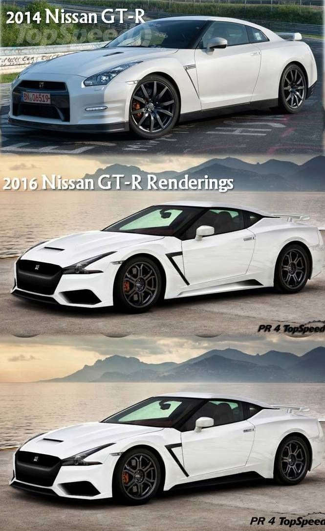 2016 Nissan GT-R rendering, this would have been sick!