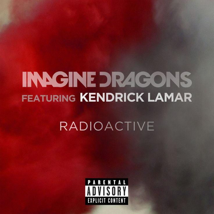 Caratula Frontal de Imagine Dragons - Radioactive (Featuring Kendrick Lamar) (Cd Single)