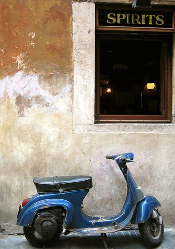 I want to ride a scooter in Rome !  How crazy fun that would be.  Maybe when I win the trip from #monogramsvacation
