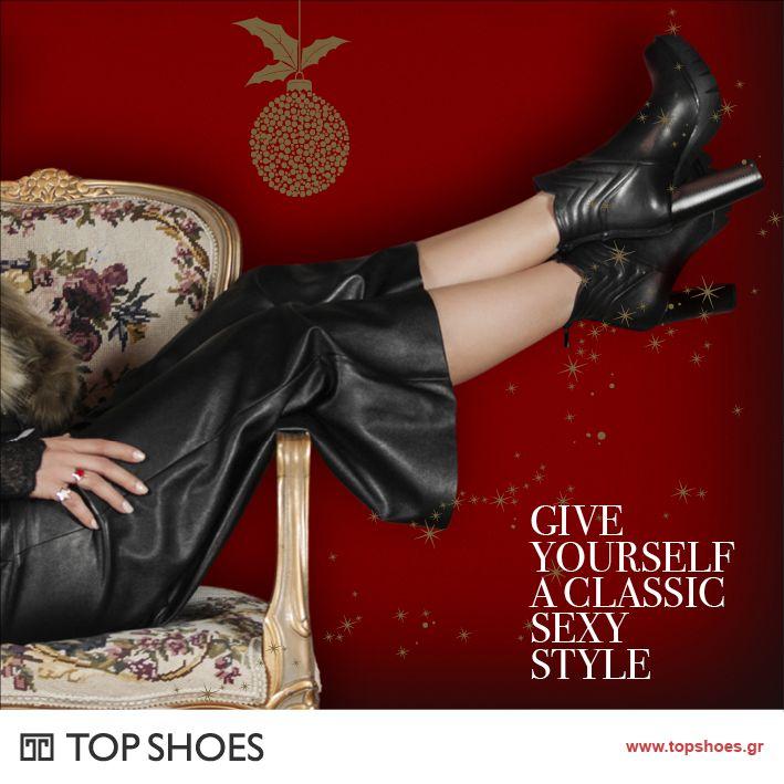 Τα πιο εντυπωσιακά και στιλάτα ψηλοτάκουνα ankle boots... είναι μόνο στο Topshoes! Ταιριάζουν με άπειρους συνδυασμούς και αναδεικνύουν την προσωπικότητά σου! Απόκτησέ τα τώρα... και η γκαρνταρόμπα σου θα σε ευγνωμονεί!