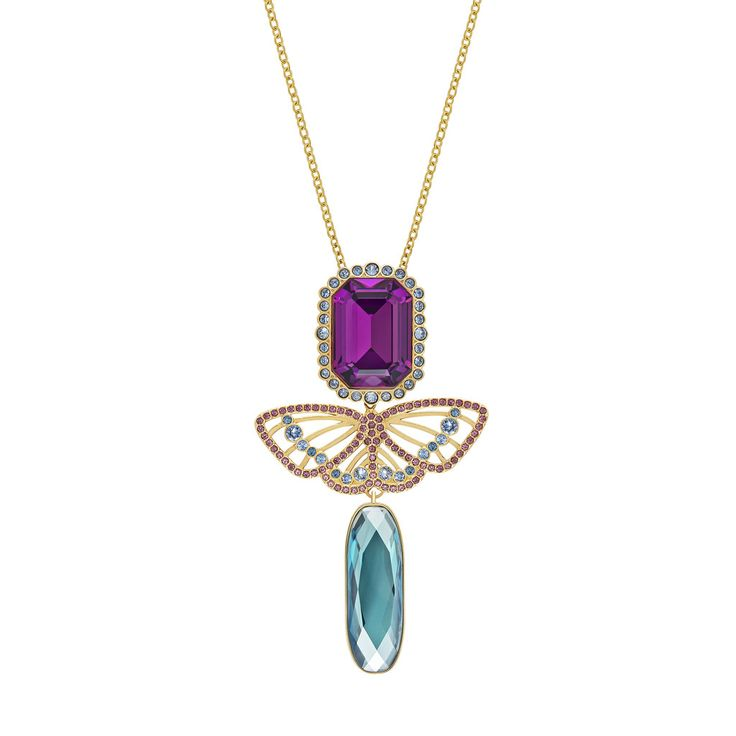 SWAROVSKI DAPHNE LONG NECKLACE, 5145215 | Duty Free Crystal