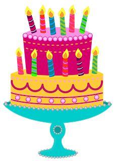12th Bday - Classroom Treasures: Birthday Cake Clipart