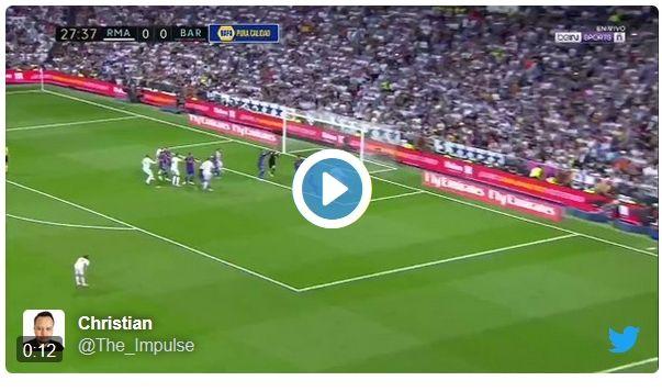 VIDEO ULTIMA HORA: L'escandalós gol del Real Madrid en fora de joc